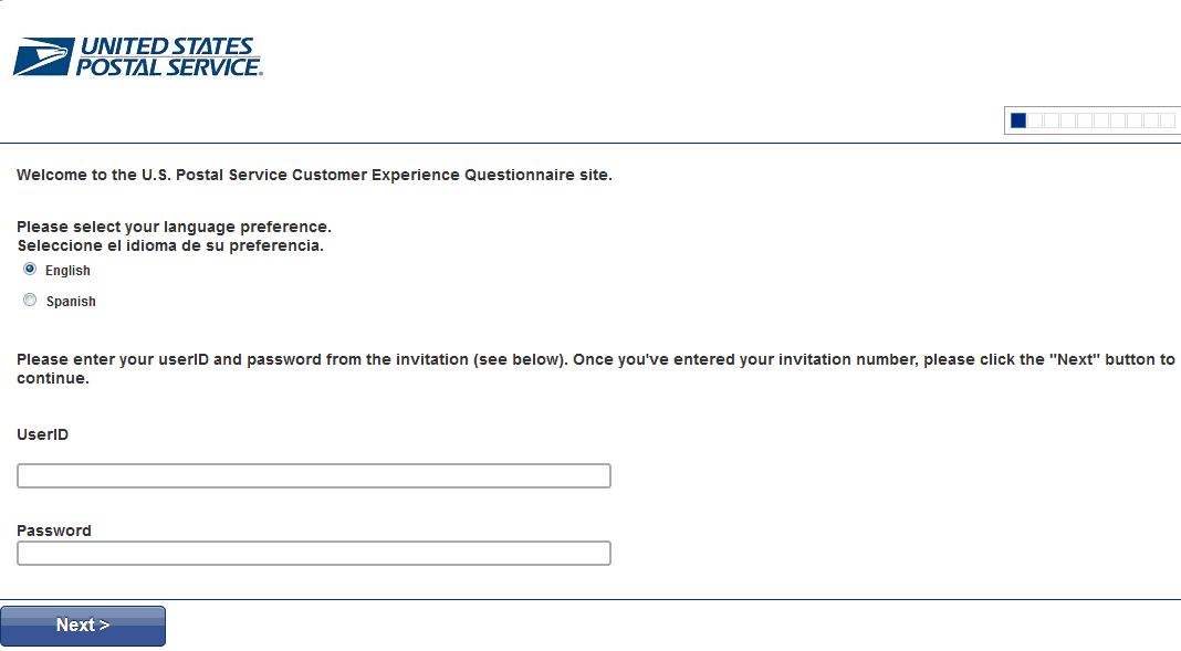 USPS-Customer-Experience-Survey