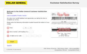 Dolar General Survey