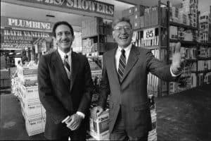 Arthur Blank and Bernie Marcus