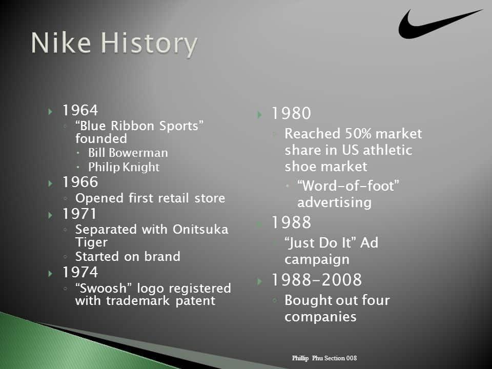 Nike Story